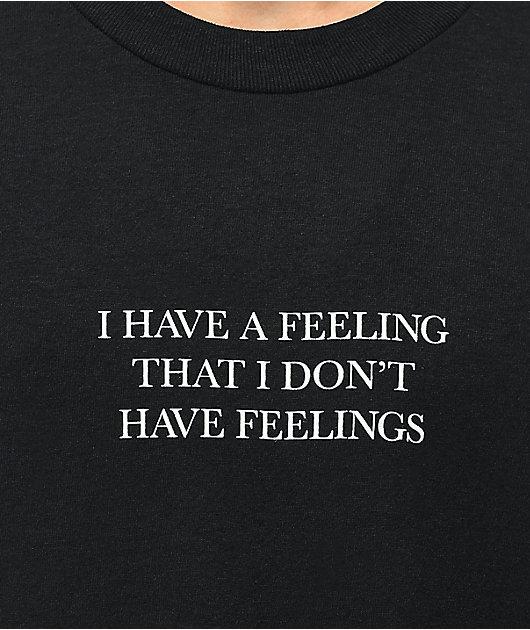 The Hundreds Feelings Black T-Shirt