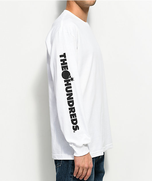 The Hundreds Forever Solid Bomb Long Sleeve T-Shirt New in Forest in Size M,L