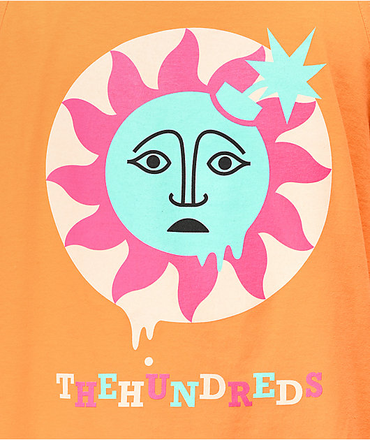 The Hundreds Global Warming Orange Tank Top