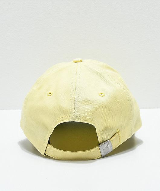 The Hundreds Ground Yellow Strapback Hat