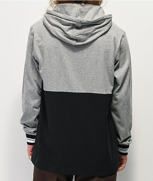 The Hundreds Sub Grey & Black Hoodie