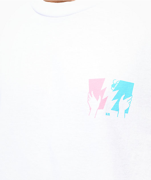 The Hundreds x Never Made Flag White T-Shirt