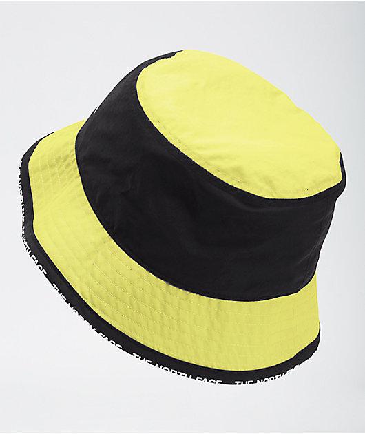 The North Face Cypress Sulphur Green & Black Bucket Hat