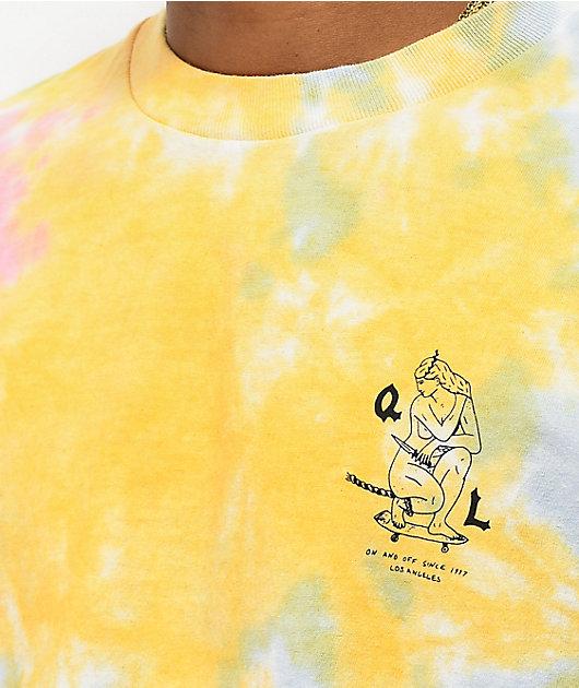 The Quiet Life Kenney Shop Rainbow Tie Dye T-Shirt