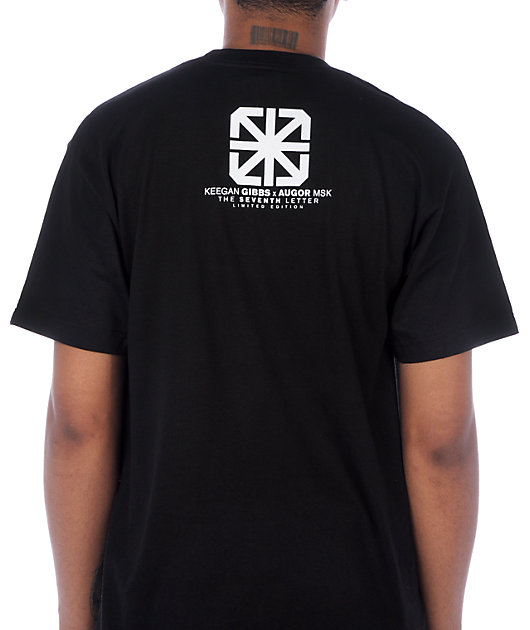 The Seventh Letter Gibbs Billboard Black T-Shirt