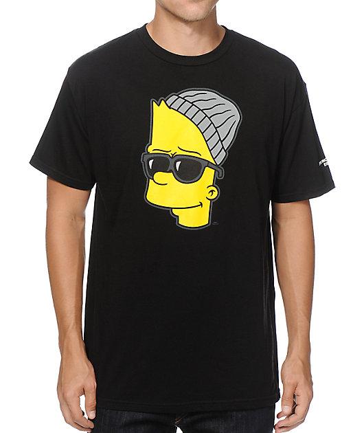 the simpsons x neff el barto t shirt