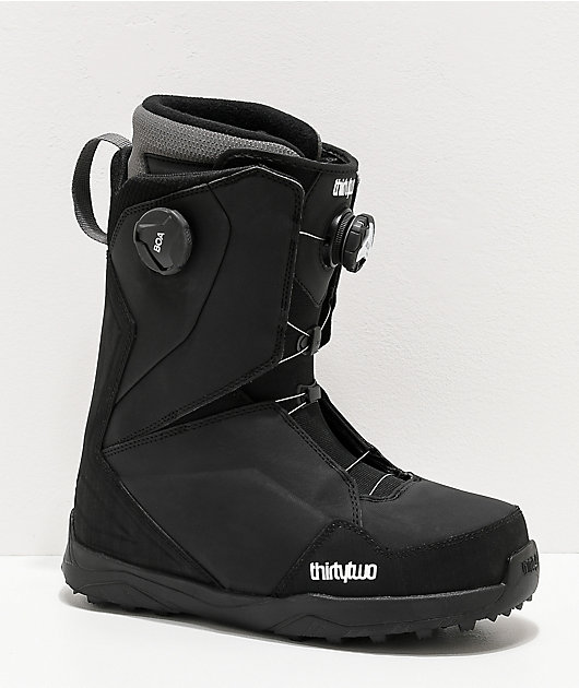 ThirtyTwo Lashed Double Boa Black Snowboard Boots 2020