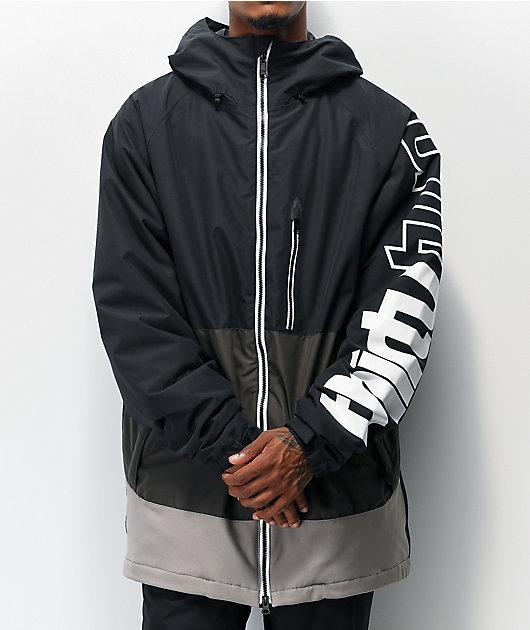 ThirtyTwo Method Black 10K Snowboard Jacket