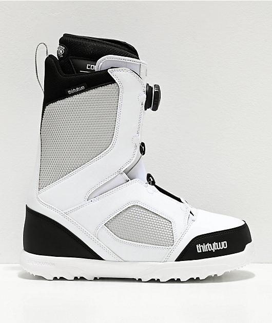 ThirtyTwo STW Boa White Snowboard Boots 2020