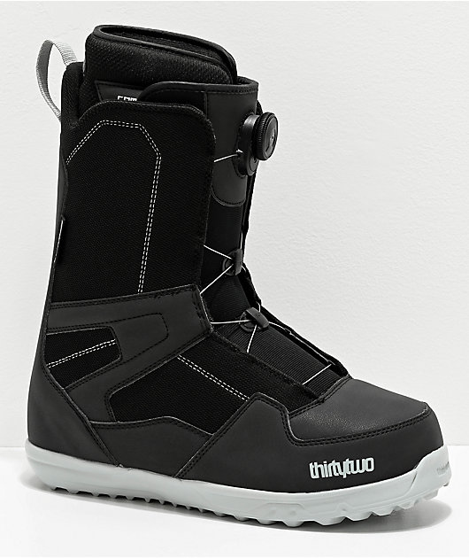 ThirtyTwo Shifty Boa Black Snowboard Boots 2020