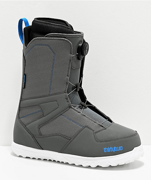 ThirtyTwo Shifty Boa Grey Snowboard Boots 2020