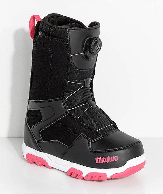 ThirtyTwo Womens Shifty Black Boa Snowboard Boots