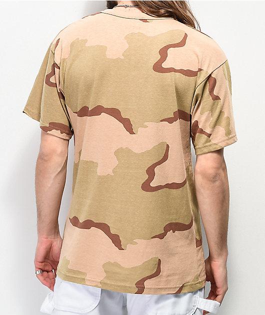 Thrasher Calligraphy Desert Camo T-Shirt