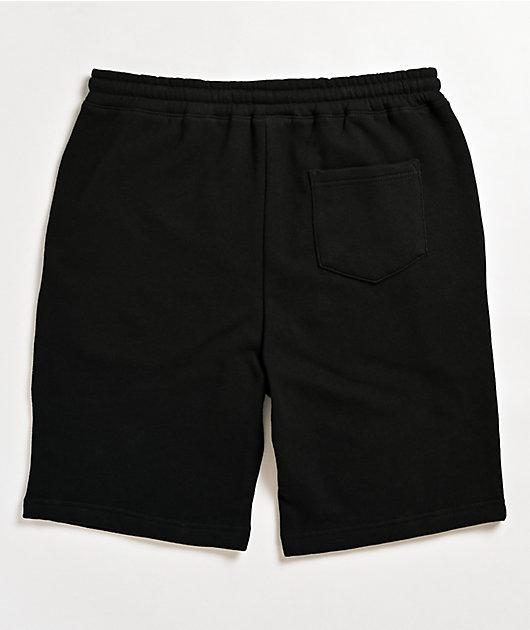 Thrasher Godzilla Black Sweat Shorts