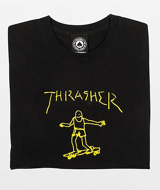 Thrasher Gonz Black T-Shirt