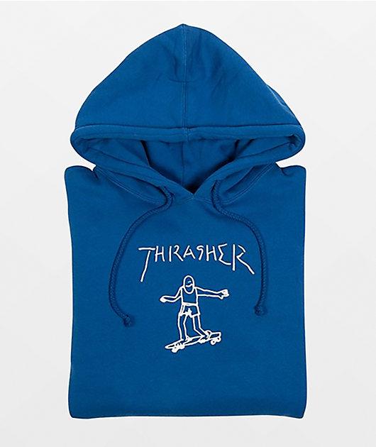 Thrasher Gonz Royal Blue Hoodie