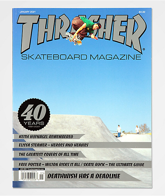 Thrasher Magazine January 2021