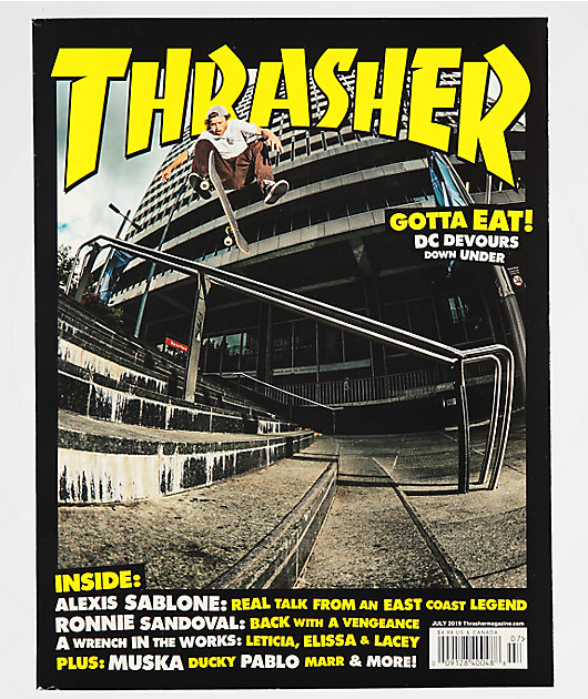 Thrasher Magazine July 2019