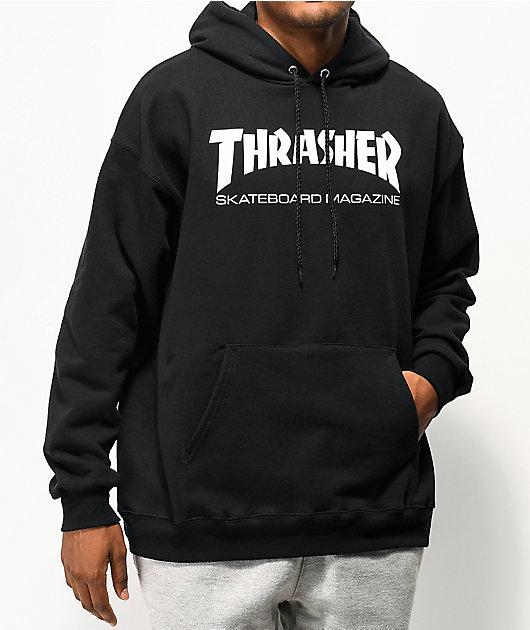 Thrasher Skate Mag  Black Hoodie