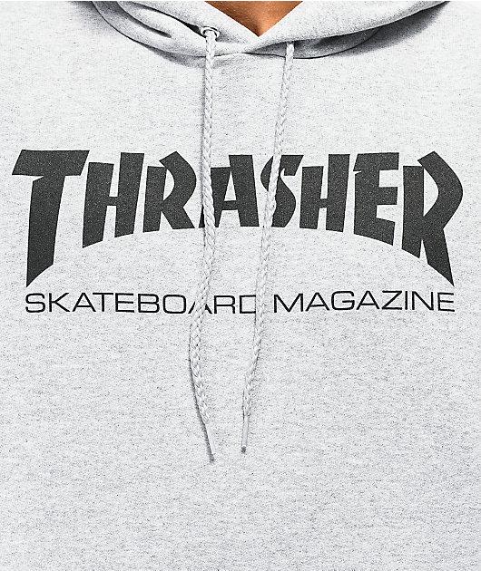 Thrasher Skate Mag Grey Hoodie