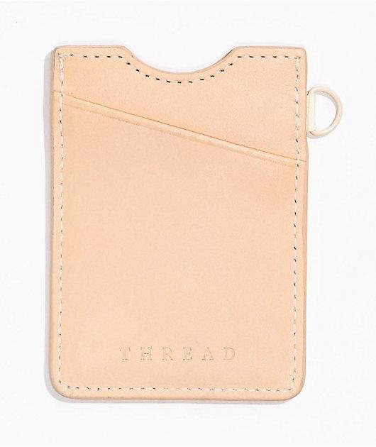 Thread Off White Vertical Wallet