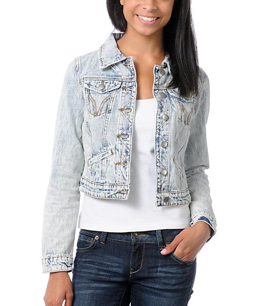 Thread and Supply Acid Wash Vintage Jean Jacket