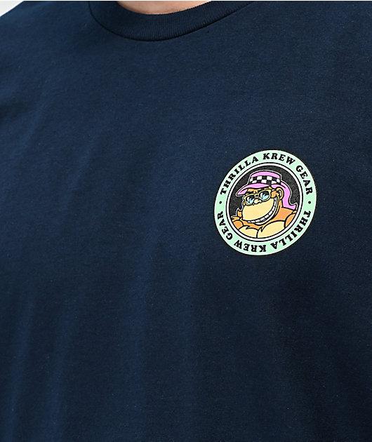 Thrilla Krew Party Bus Navy T-Shirt