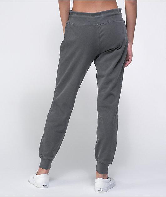 Tommy Hilfiger Black Pigment Wash Jogger Sweatpants