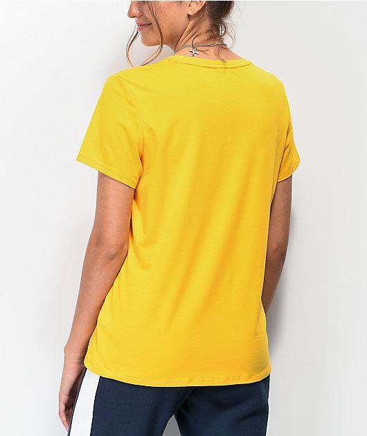 Tommy Hilfiger Flag Block camiseta dorada