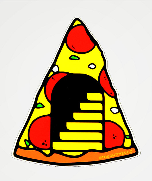Tough Times Pizza Portal Sticker