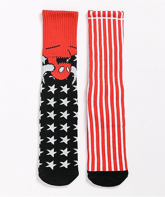 Toy Machine American Monster Crew Socks