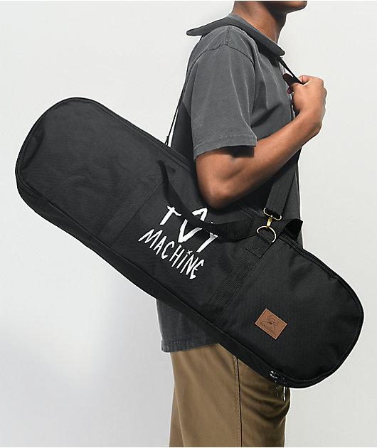 Toy Machine Black Skateboard Duffle Bag