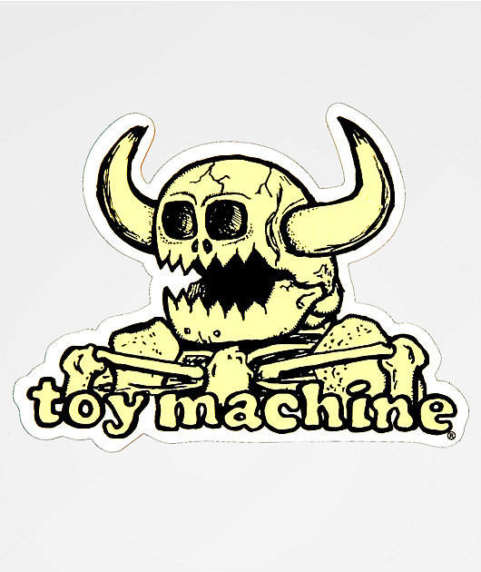 Toy Machine Dead Monster Sticker