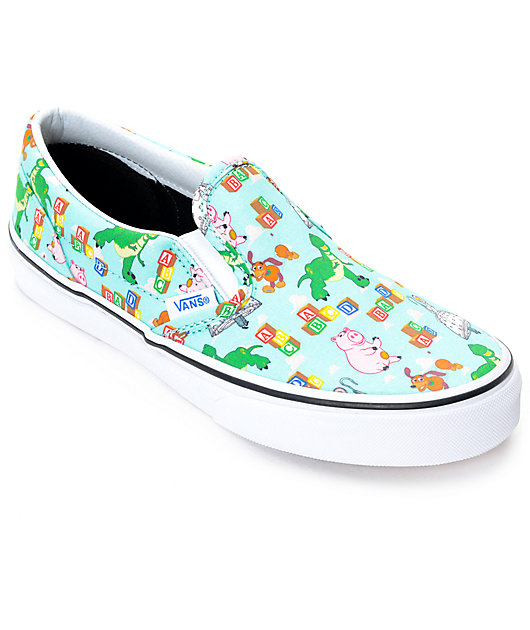 Toy Story x Vans Classic Slip On Andy's