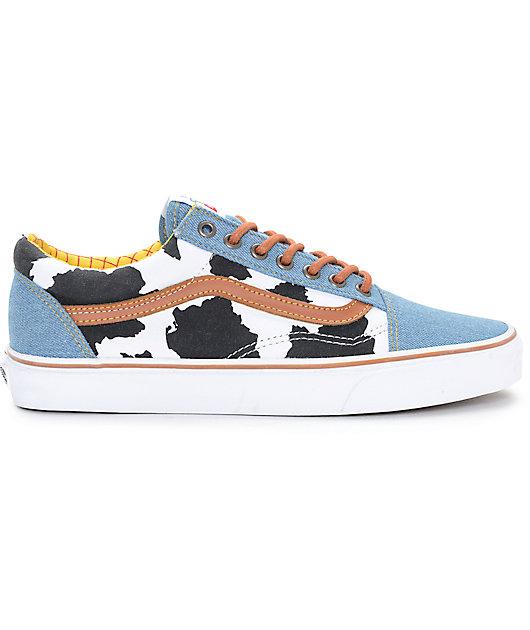Toy Story x Vans Old Skool Woody Shoes