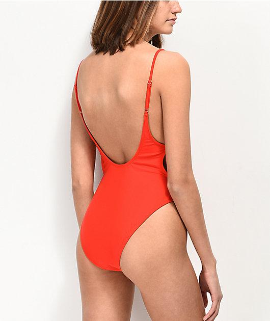 Trillium Wendy Red One Piece Swimsuit