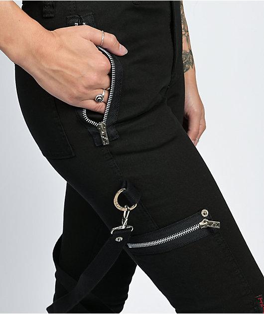 Tripp NYC Chaos Black Bondage Pants