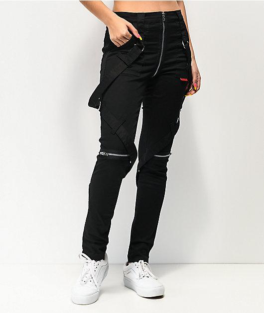 Tripp NYC No Regrets Black Bondage Pants