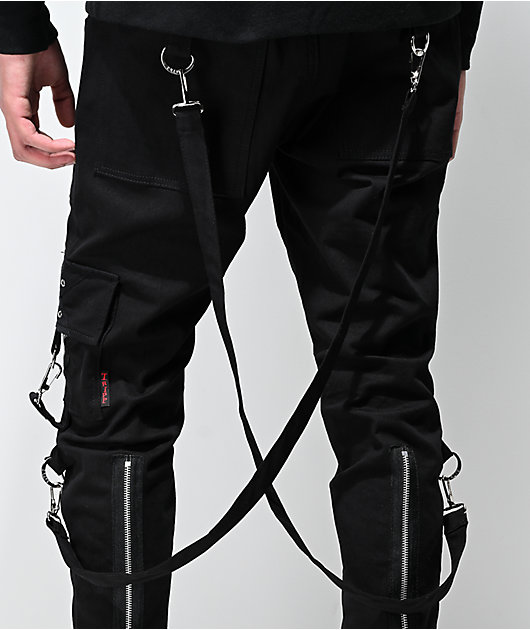 Tripp NYC Slim 2.0 Black Bondage Pants
