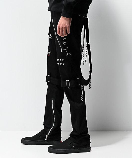 Tripp NYC Studs & Straps Black Bondage Pants