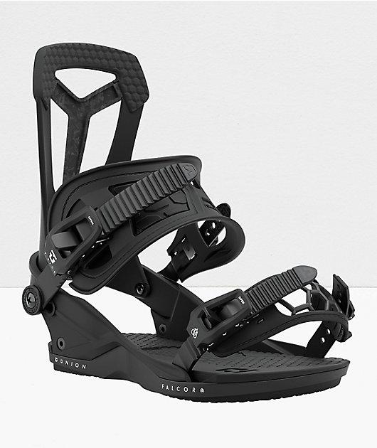 Union Falcor Black Snowboard Bindings 2021