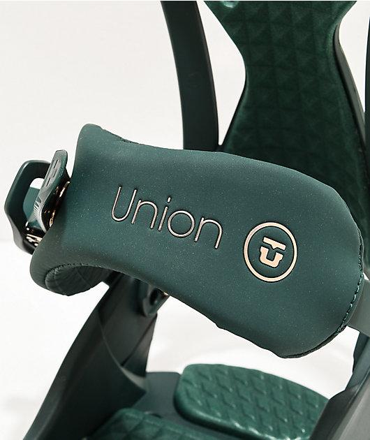 Union Juliet Green Snowboard Bindings Women's 2020