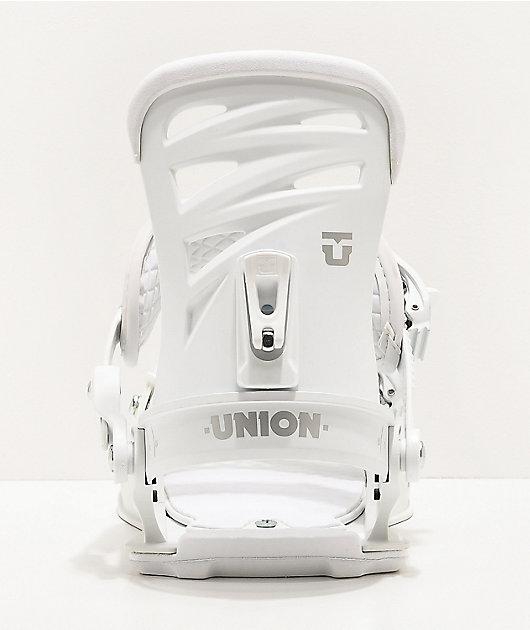 Union Rosa White Snowboard Bindings Women's 2020