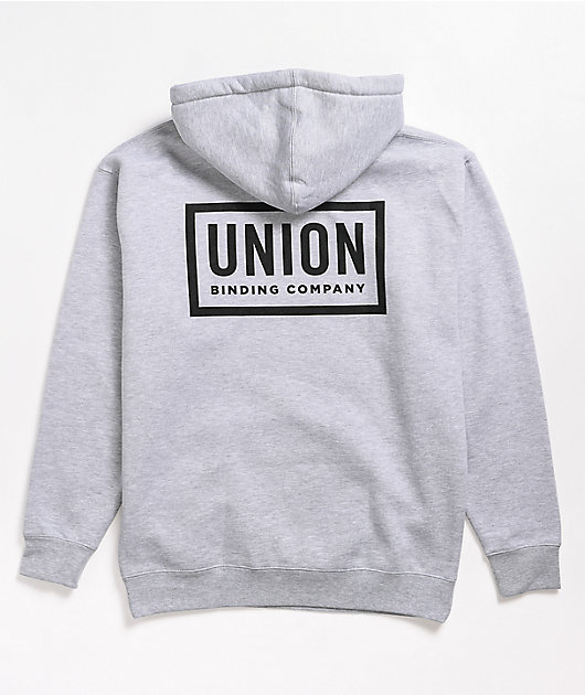 Union Team Grey Hoodie