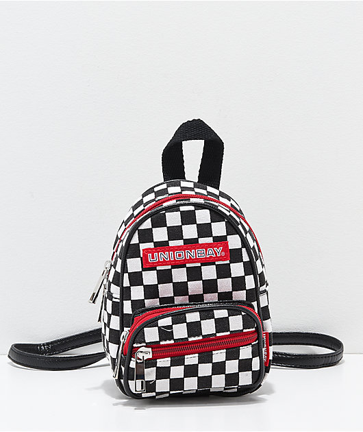 Unionbay Checkered Mini Backpack