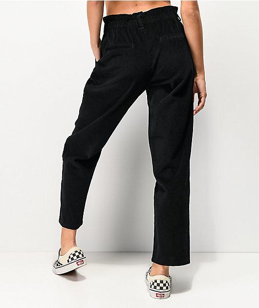 Unionbay High Rise Black Corduroy Pants