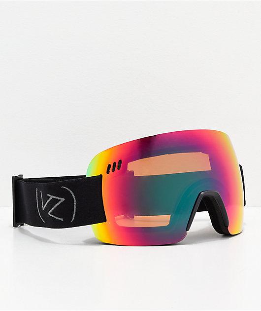 VONZIPPER Alt XM Wildlife Black Satin Chrome Snowboard Goggles