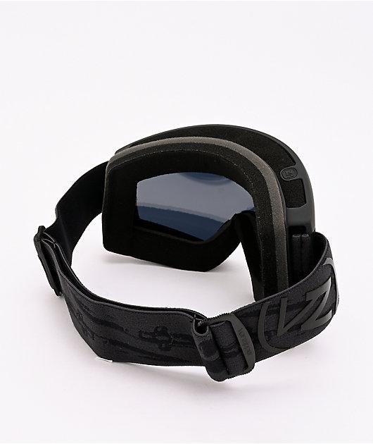VONZIPPER Cleaver Black Satin & Wildlife Blackout Snowboard Goggles
