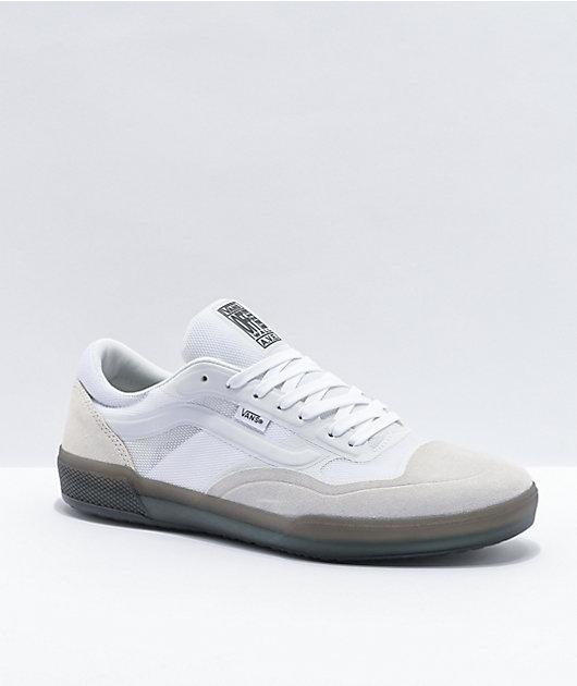 Vans A.V.E Pro White Smoke Skate Shoes