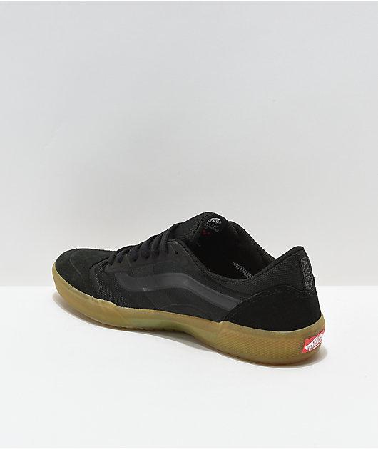 Vans A.V.E. Pro Black & Gum Skate Shoes